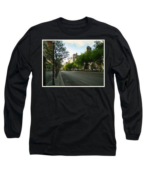 Long Sleeve T-Shirt featuring the photograph Hamilton At Dawn by Shawn Dall