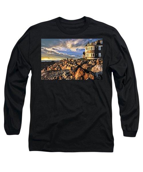 Hampton Beach Sunrise Long Sleeve T-Shirt