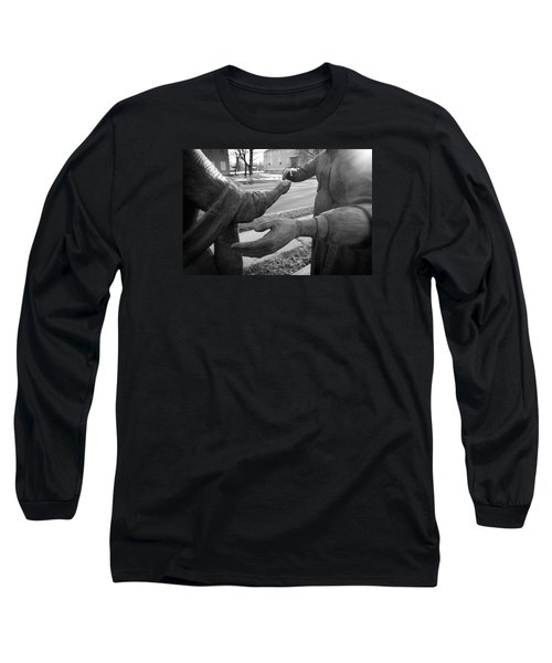 Hand To Hand Long Sleeve T-Shirt