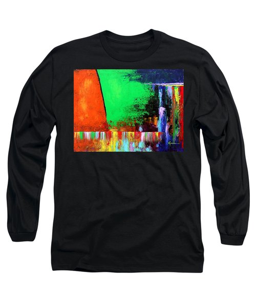 Happiness Long Sleeve T-Shirt by Kume Bryant
