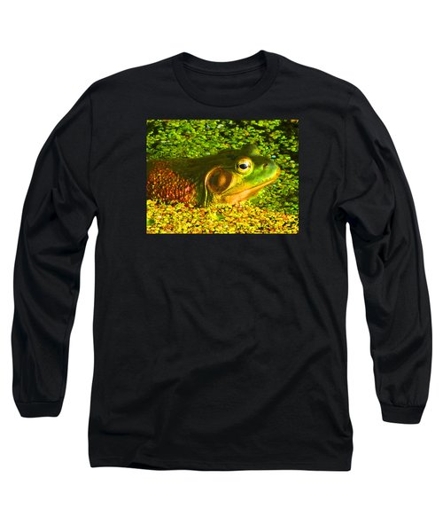 Happy As A Frog In A Pond Long Sleeve T-Shirt