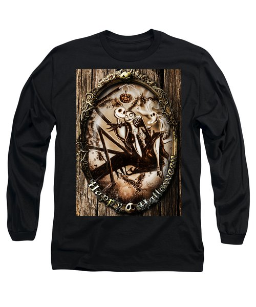Happy Halloween IIi Sepia Version Long Sleeve T-Shirt