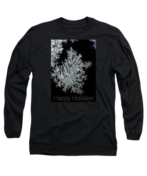 Long Sleeve T-Shirt featuring the photograph Happy Holidays by Jodie Marie Anne Richardson Traugott          aka jm-ART
