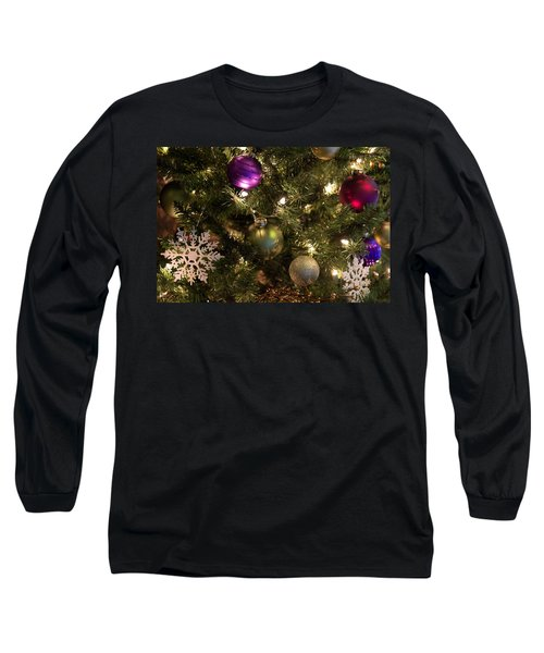 Long Sleeve T-Shirt featuring the photograph Happy Holidays by Patricia Babbitt