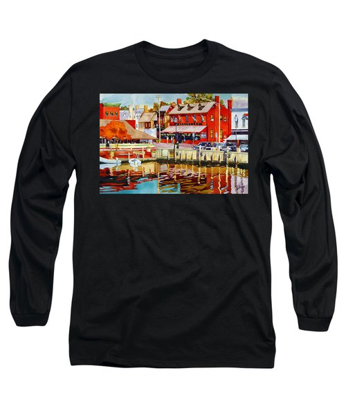 Harborfront Tavern Long Sleeve T-Shirt