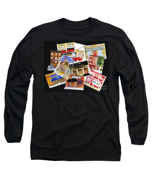 Harlem Jazz Clubs Long Sleeve T-Shirt