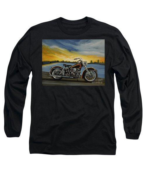 Harley Davidson Duo Glide Long Sleeve T-Shirt