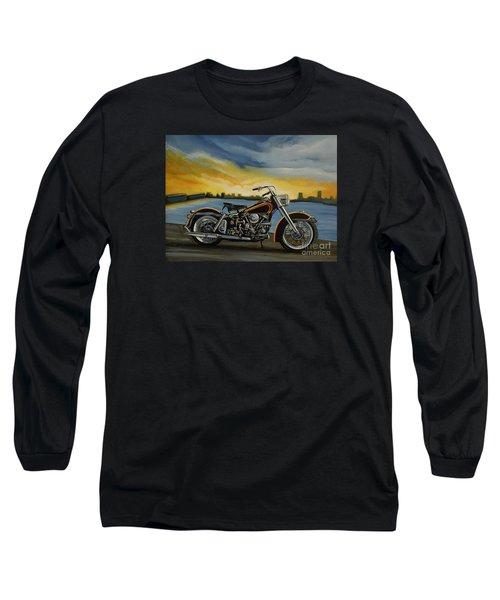 Harley Davidson Duo Glide Long Sleeve T-Shirt