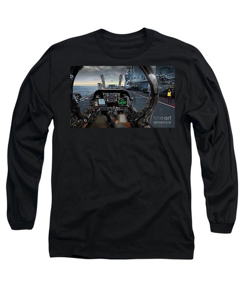 Harrier Cockpit Long Sleeve T-Shirt