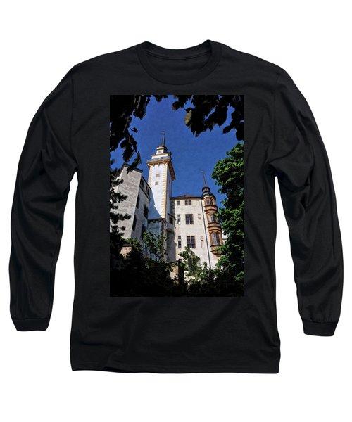 Hartenfels Castle - Torgau Germany Long Sleeve T-Shirt