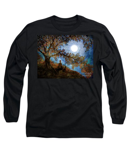 Harvest Moon Meditation Long Sleeve T-Shirt