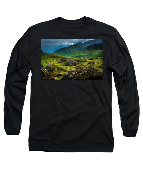 Hatcher's Pass  Long Sleeve T-Shirt