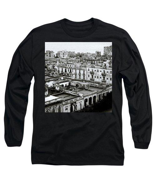 Havana City Long Sleeve T-Shirt by Shaun Higson
