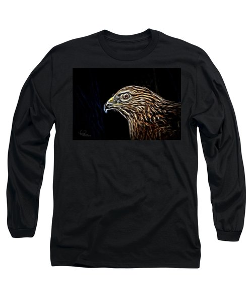 Hawk Long Sleeve T-Shirt by Ludwig Keck