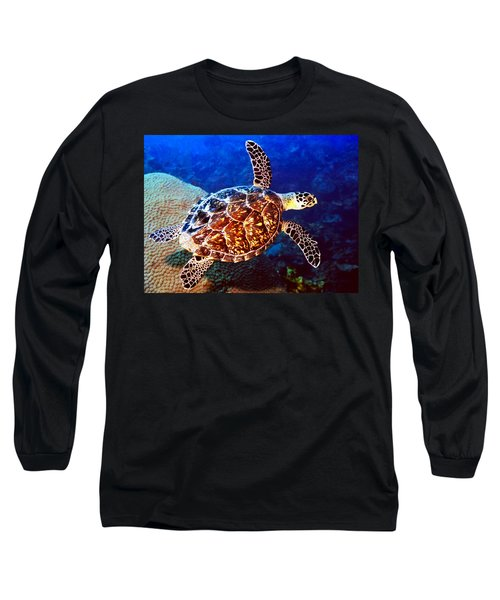 Hawksbill Long Sleeve T-Shirt by Jean Noren