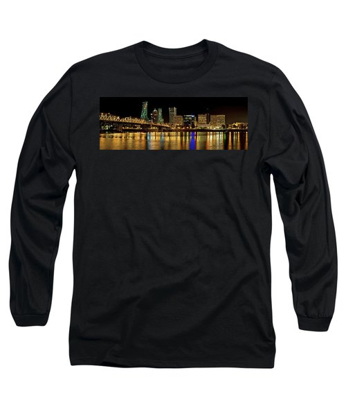 Hawthorne Bridge 2 Long Sleeve T-Shirt