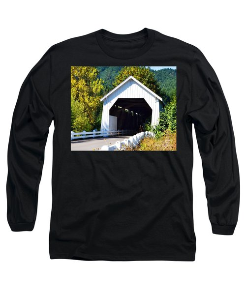 Hayden Covered Bridge Long Sleeve T-Shirt