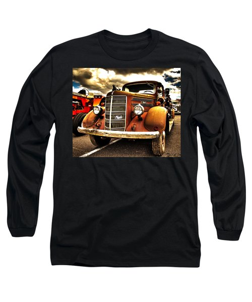 Hdr Fire Truck Long Sleeve T-Shirt