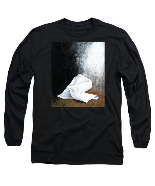 He Is Risen Long Sleeve T-Shirt by Kume Bryant