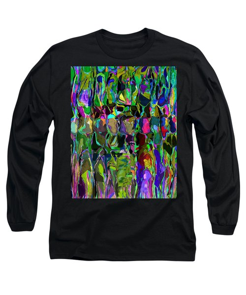 Head Voices Long Sleeve T-Shirt by David Lane