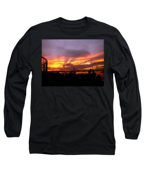 Headlights Of Sunset Long Sleeve T-Shirt