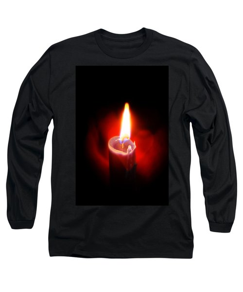 Heart Aflame Long Sleeve T-Shirt