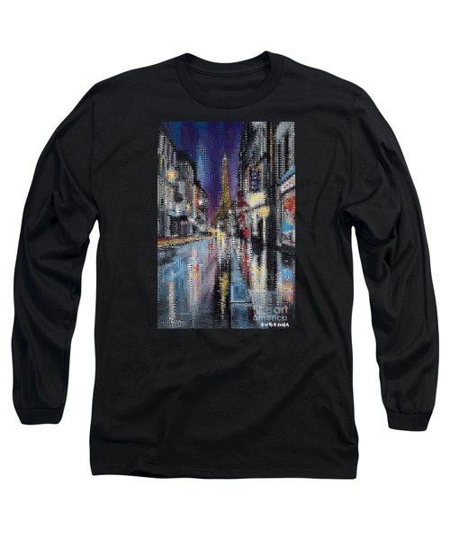 Heart Of Paris Long Sleeve T-Shirt
