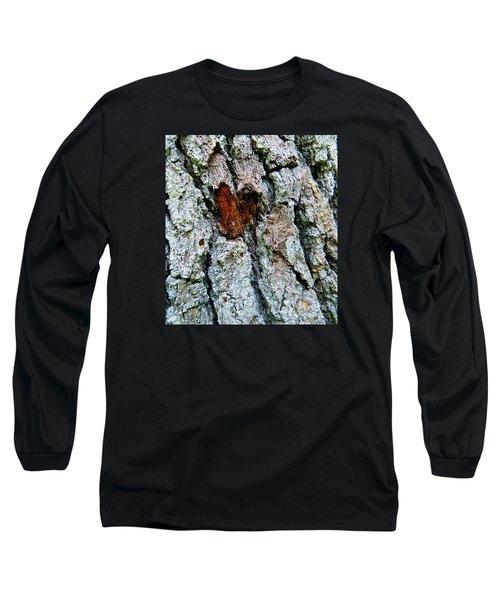 Heart Wood Long Sleeve T-Shirt by Joy Hardee