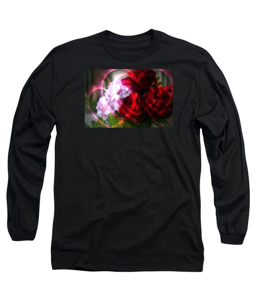Hearts A Fire Long Sleeve T-Shirt