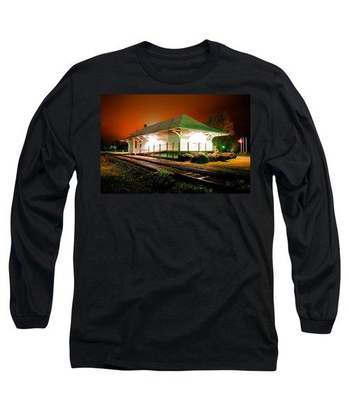 Heath Springs Depot Long Sleeve T-Shirt