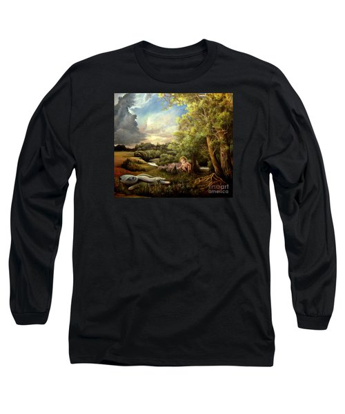Heaven Long Sleeve T-Shirt by Mikhail Savchenko