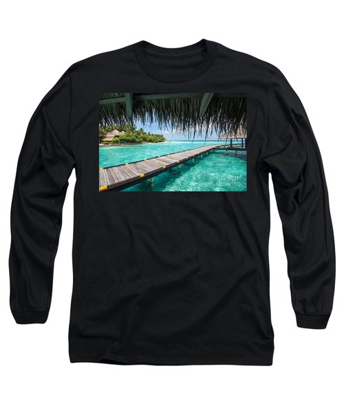 Heavenly View Long Sleeve T-Shirt by Hannes Cmarits