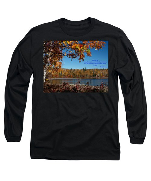 Hebrews 3 4 Long Sleeve T-Shirt