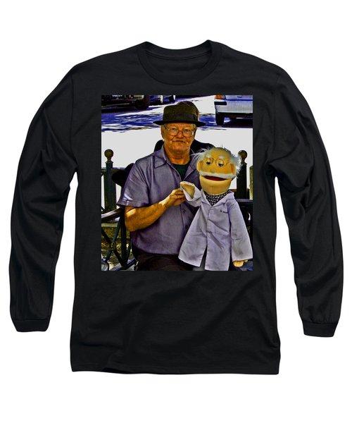 Hello 2 All Long Sleeve T-Shirt