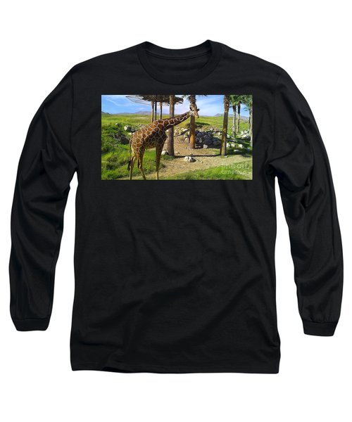 Hello There Long Sleeve T-Shirt by Chris Tarpening