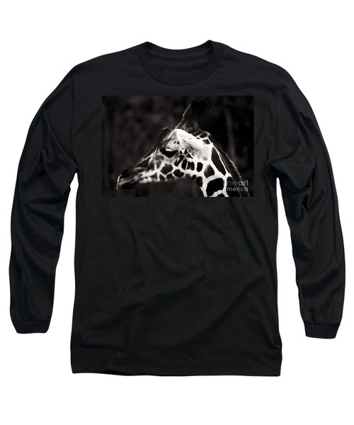 Long Sleeve T-Shirt featuring the photograph Hello Up There by Doc Braham