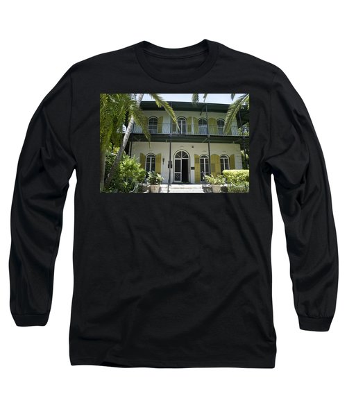 Hemingway's Hideaway Long Sleeve T-Shirt by Laurie Perry