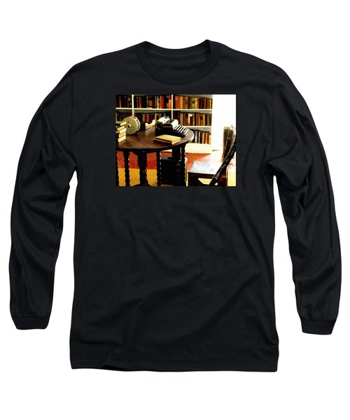 Hemingway's Studio Ernest Hemingway Key West Long Sleeve T-Shirt