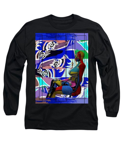 Her Abstract Journey Long Sleeve T-Shirt