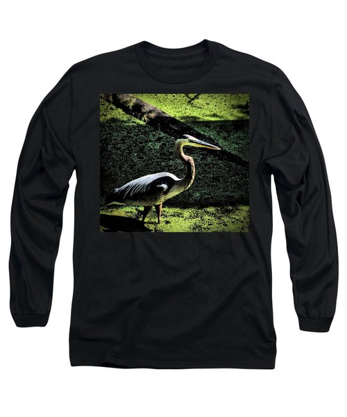 Long Sleeve T-Shirt featuring the photograph Here Fishy Fishy by Robert McCubbin