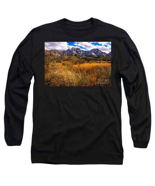 Long Sleeve T-Shirt featuring the photograph Here To There by Mark Myhaver