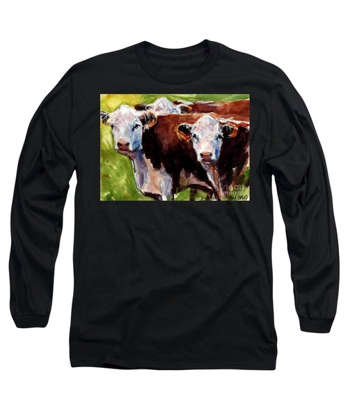 Hereford Ears Long Sleeve T-Shirt by Molly Poole