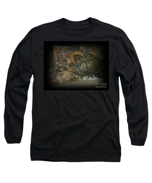 Long Sleeve T-Shirt featuring the photograph Here's Looking At You by Sara  Raber