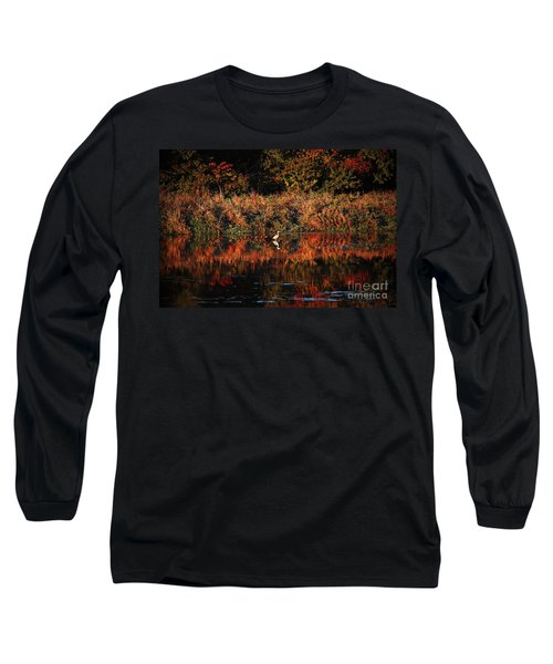 Heron Hideaway Long Sleeve T-Shirt