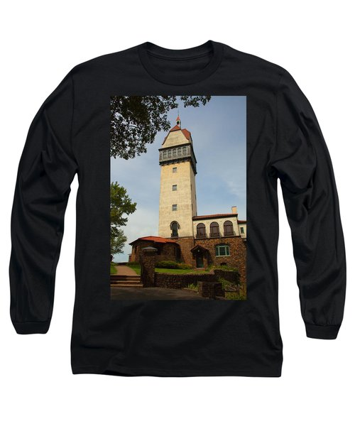 Heublein Tower Long Sleeve T-Shirt by Karol Livote