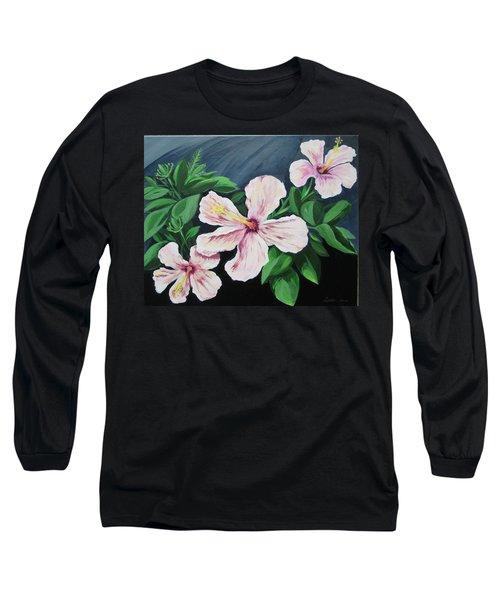 Hibiscus No. 1 Long Sleeve T-Shirt