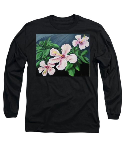 Hibiscus No. 1 Long Sleeve T-Shirt