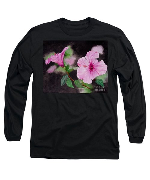 Hibiscus - So Pretty In Pink Long Sleeve T-Shirt