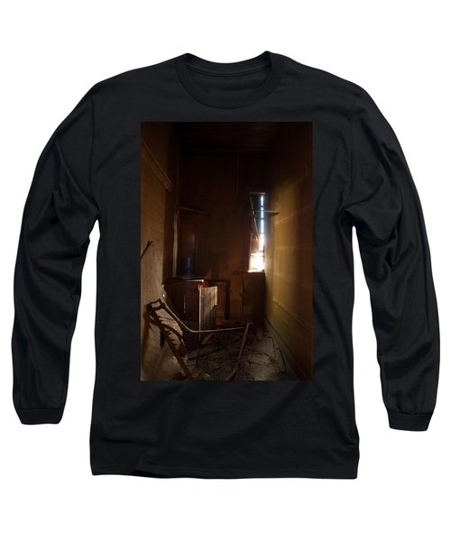 Long Sleeve T-Shirt featuring the photograph Hidden In Shadow by Fran Riley