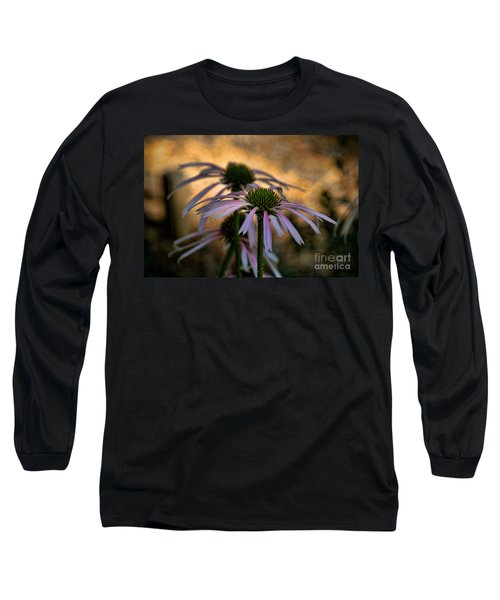 Hiding In The Shadows Long Sleeve T-Shirt by Peggy Hughes